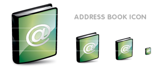 ADDRESS BOOK アイコン